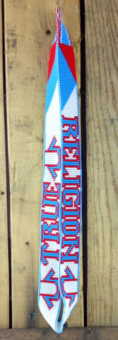 True Religion* Beaded Lanyard