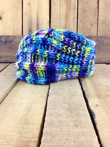 Multi-Coloured Knitted Ear Warmer