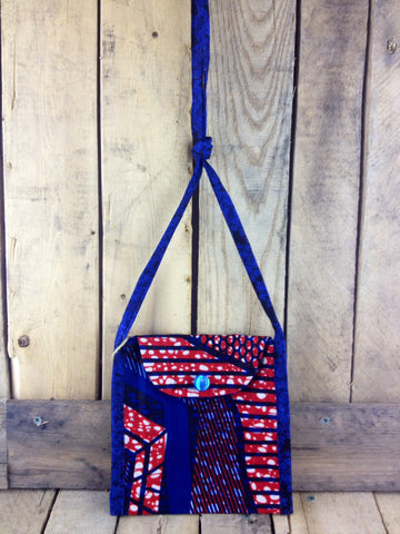 Blue Cloth Handbag