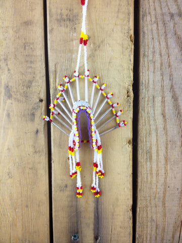 Beaded Headdress Ornament