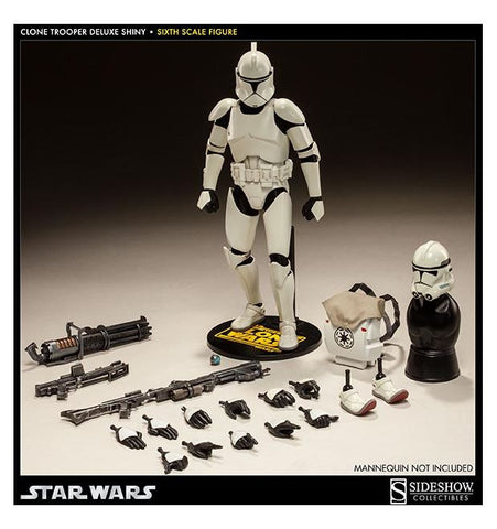 Sixth Scale: Shiny Clone Trooper Deluxe Collectible Figure