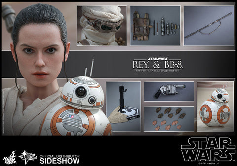 Sixth Scale: Rey and BB-8