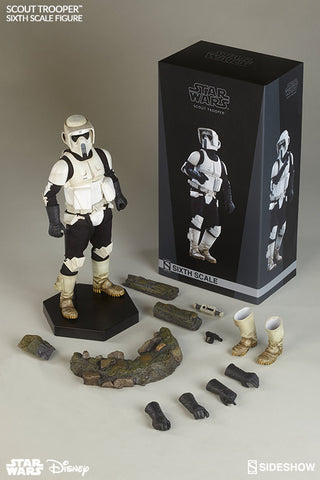 Sixth Scale: Scout Trooper Collectible Figure