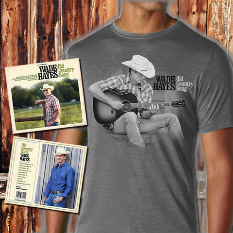 Old Country Song Charcoal Photo T & CD Pre-Order