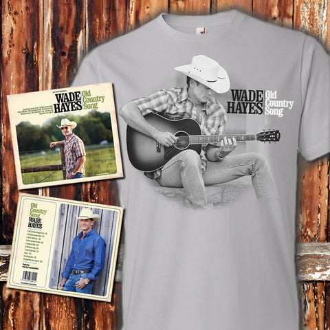Old Country Song Silver Photo T & CD Pre-Order