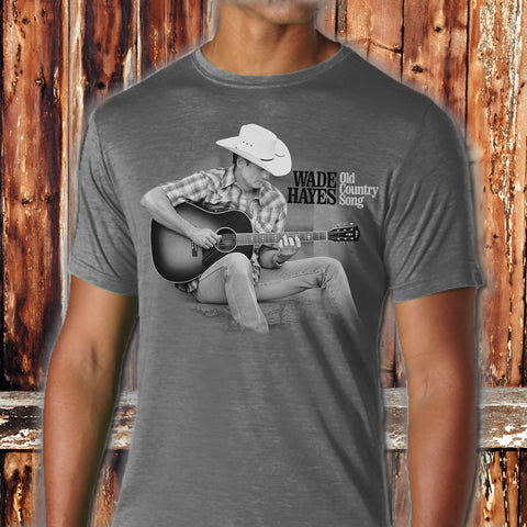 Old Country Song Charcoal Photo T - Limited Edition Pre-Order Only