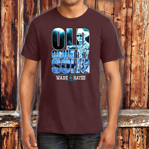 Old Country Song Maroon Title T - Limited Edition Pre-Order Only