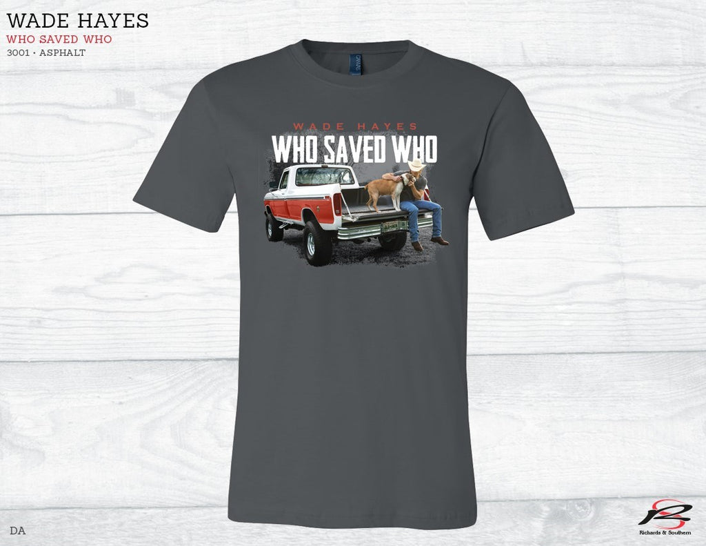 "Who Saved Who T-Shirt ""Pre-Order"""