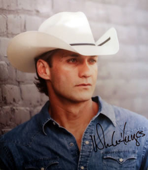 Go Live Your Life Wade Hayes 8x10 ~ Autographed