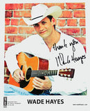 Wade Hayes 8x10 ~ Autographed