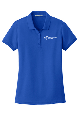 L100 Port Authority® Core Classic Pique Ladies Polo