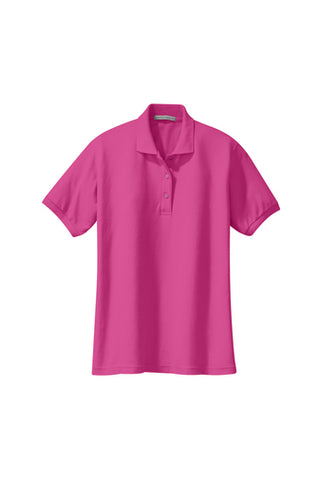Womens - L500 Port Authority Silk Touch Polo (Hospital Uniform Program Only - No Embroidery)