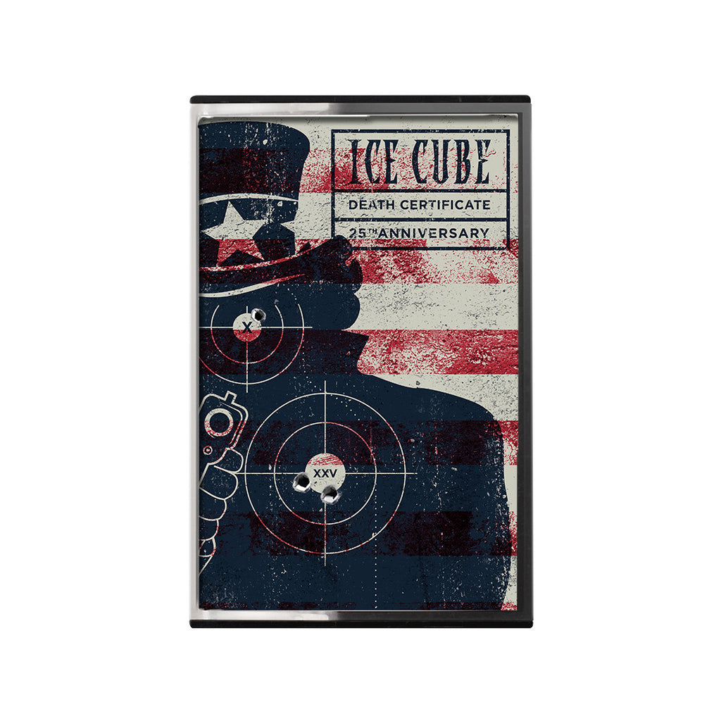 Death certificate cassette ice cube official merchandise death certificate cassette 1betcityfo Choice Image