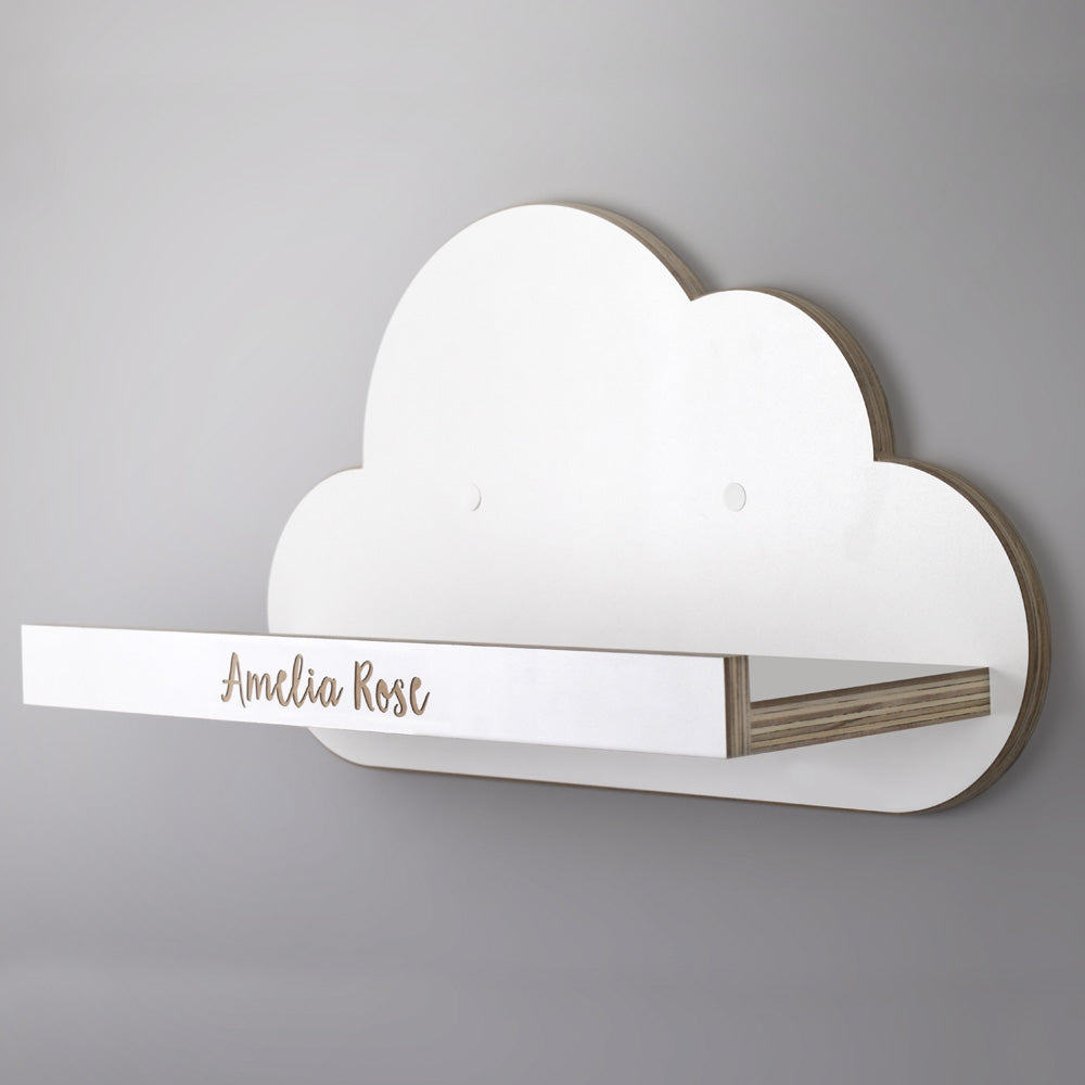 Cloud Nursery Shelf