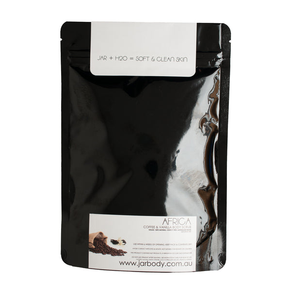 Jar Body: Africa Coffee and Vanilla Body Scrub - Luxe Gifts™  - 2
