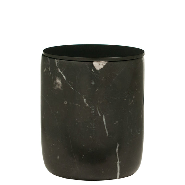 The Luxuriate: Cuba Gold Black Marble Candle With Black Lid - Luxe Gifts™  - 1