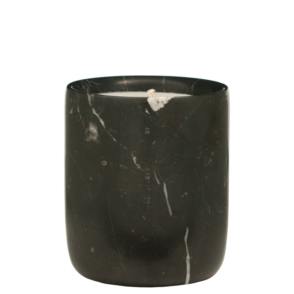 The Luxuriate: Cuba Gold Black Marble Candle With Black Lid - Luxe Gifts™  - 3