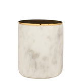 The Luxuriate: Amazon Summer Apple White Marble Candle With Gold Lid - Luxe Gifts™  - 1
