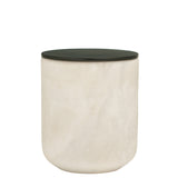 The Luxuriate: Cuba Gold White Marble Candle With Black Lid - Luxe Gifts™  - 1