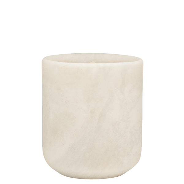 The Luxuriate: Cuba Gold White Marble Candle With Black Lid - Luxe Gifts™  - 3