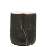 The Luxuriate: Peony Rose Black Marble Candle With Copper Lid - Luxe Gifts™  - 1