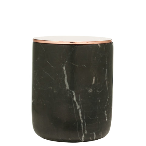 The Luxuriate: Amazon Summer Apple Black Marble Candle With Copper Lid - Luxe Gifts™  - 1