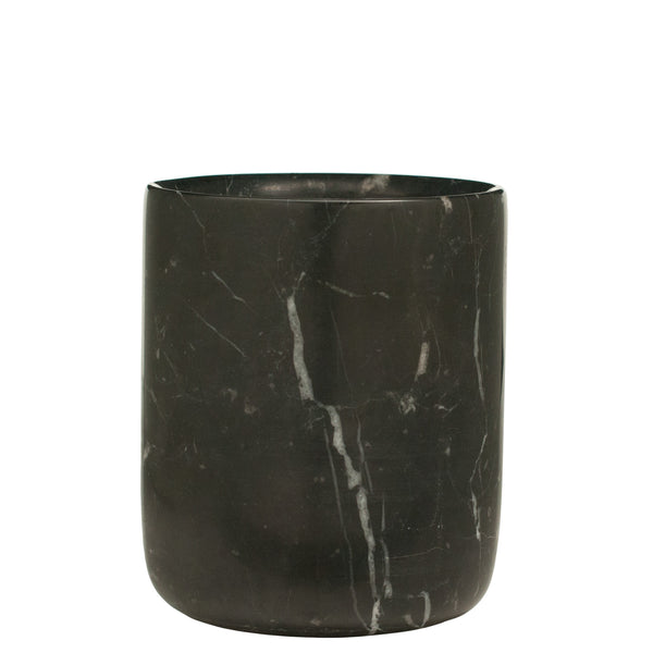 The Luxuriate: Salted Caramel Black Marble Candle With Gold Lid - Luxe Gifts™  - 3