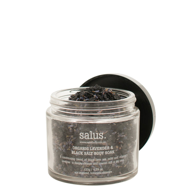 Salus Body: Organic Lavender and Black Salt Body Soak - Luxe Gifts™  - 3