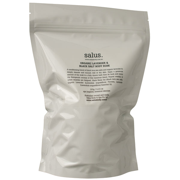 Salus Body: Organic Lavender and Black Salt Body Soak - Luxe Gifts™  - 4
