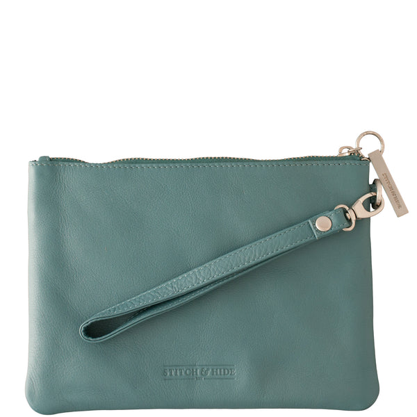 Stitch and Hide: Cassie Clutch Teal - Luxe Gifts™  - 2