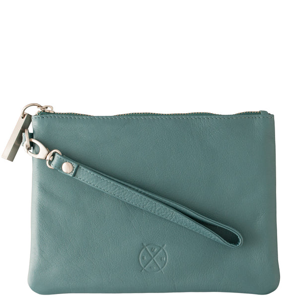 Stitch and Hide: Cassie Clutch Teal - Luxe Gifts™  - 1