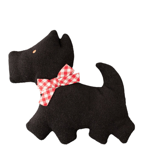 Alimrose: Pancake Scotty Dog Rattle Black - Luxe Gifts™