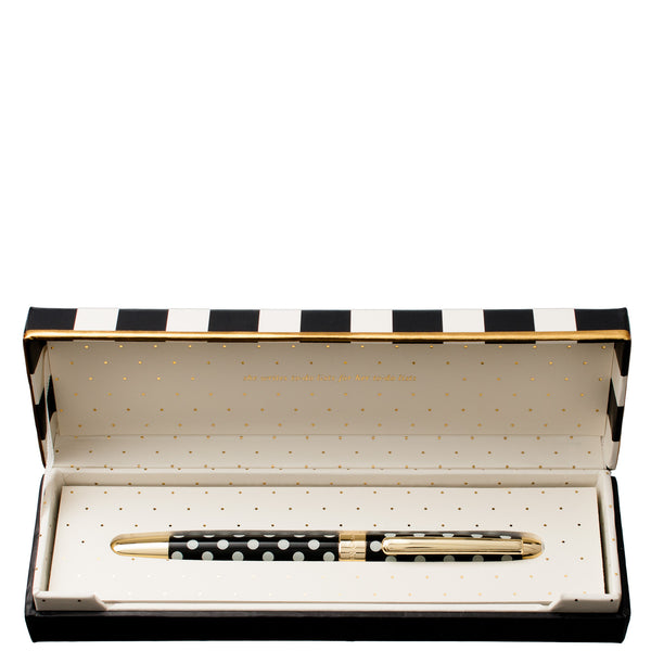Kate Spade New York: Ballpoint Pen Black Dots - Luxe Gifts™  - 2