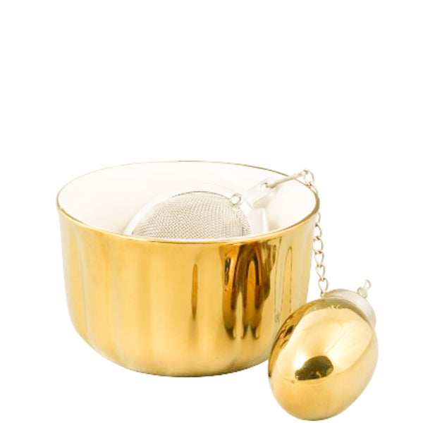 The Millionaire Tea Infuser Gold - Luxe Gifts™