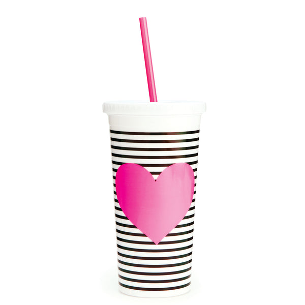 Ban.do Sip Sip Tumbler Neon Heart - Luxe Gifts™