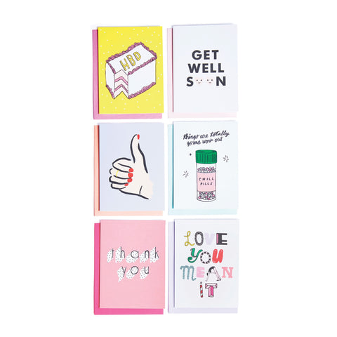 Ban.do Hey Girl Hey Greeting Card Set - Luxe Gifts™  - 1