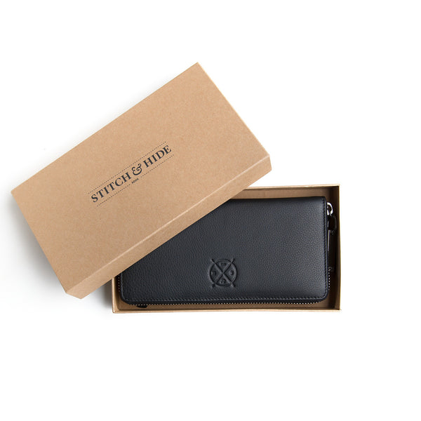 Stitch and Hide: Christina Wallet Black - Luxe Gifts™  - 2