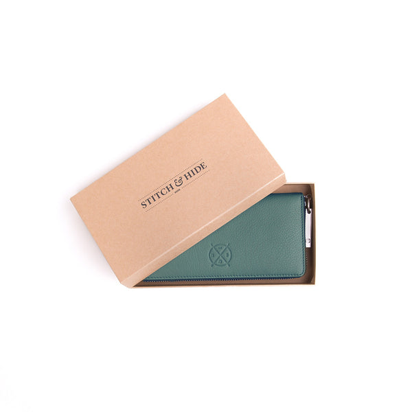 Stitch and Hide: Christina Wallet Teal - Luxe Gifts™  - 2