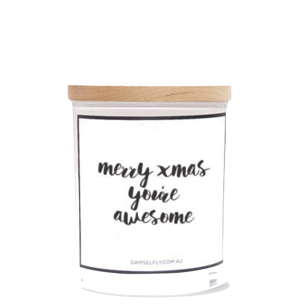 Damselfly: Merry Xmas, You're Awesome - Luxe Gifts™  - 1