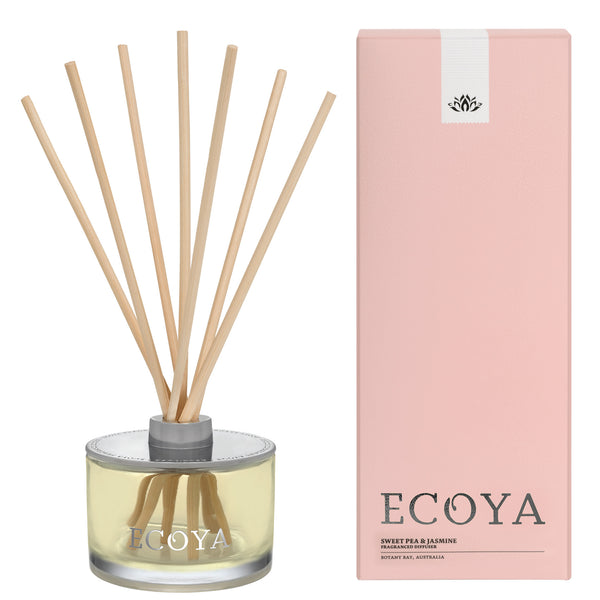 Ecoya: Sweet Pea and Jasmine Fragrance Diffuser - Luxe Gifts™