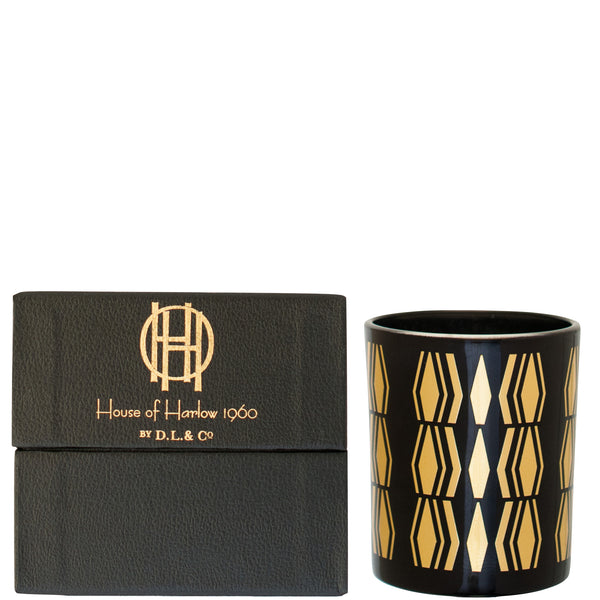 House of Harlow 1960: Black Saint James Candle - Luxe Gifts™  - 2