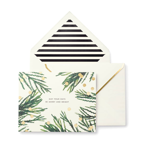 Kate Spade New York: Holiday Cards 10 Set - Luxe Gifts™