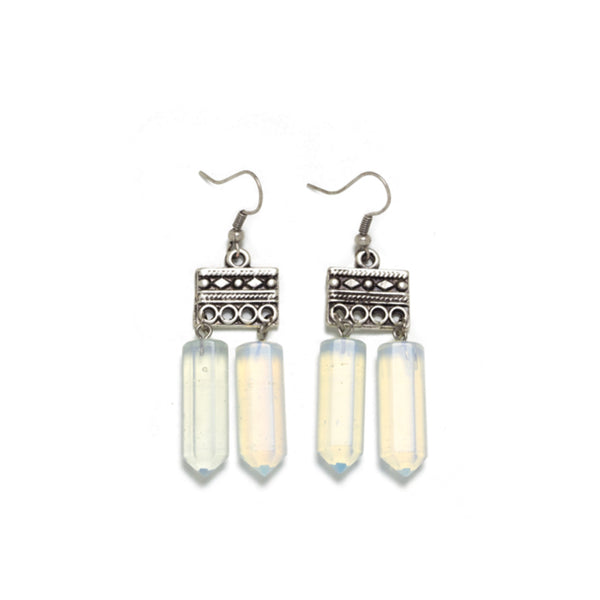 Lazurah: Blanco Earrings Opalite - Luxe Gifts™  - 1