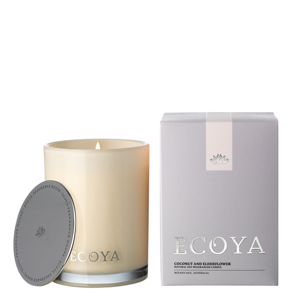 Ecoya: Coconut and Elderflower Madison Jar - Luxe Gifts™