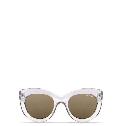 Quay Australia: Jinx Sunglasses in Clear - Luxe Gifts™