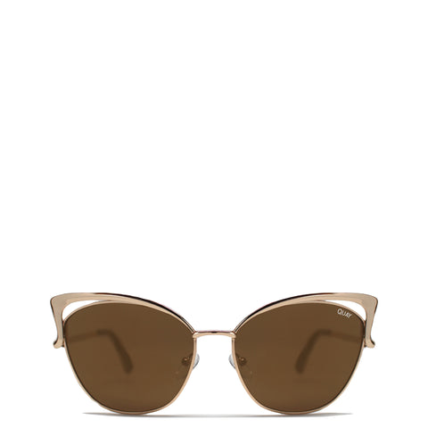 Quay Australia: Lana Sunglasses in Gold - Luxe Gifts™