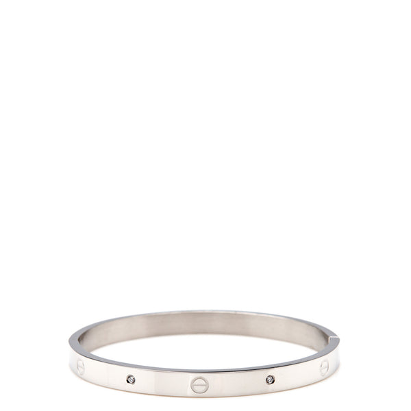 The Peach Box: Urban Hardware Bangle Silver - Luxe Gifts™  - 1