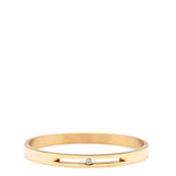 The Peach Box: Floating Crystal Bangle Gold - Luxe Gifts™  - 1