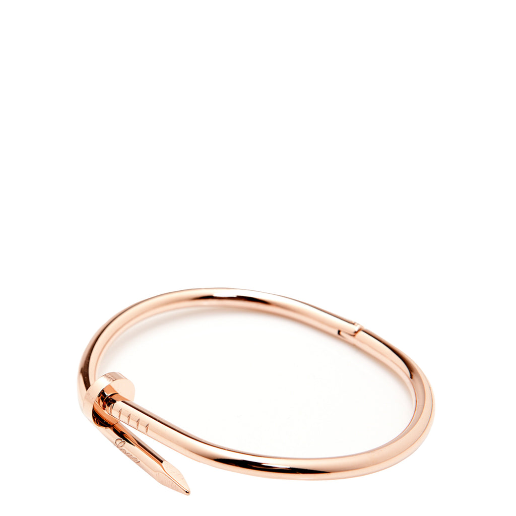 e920363edb6 The Peach Box: Twisted Nail Bangle Rose Gold - Luxe Gifts™ ...