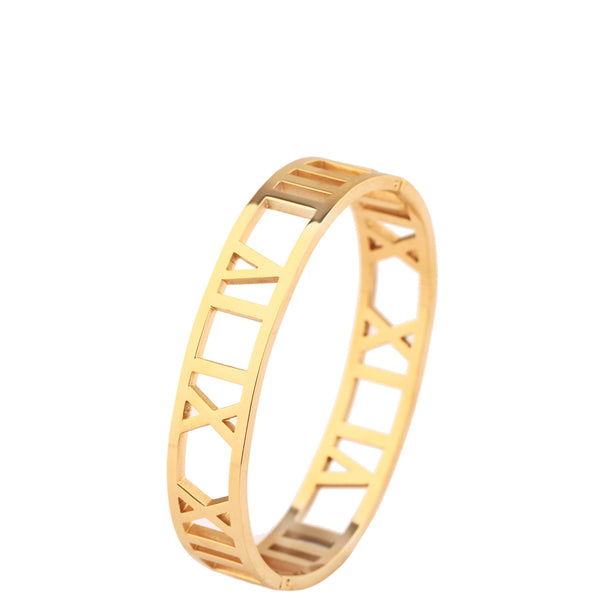 The Peach Box: Roman Empress Bangle Gold - Luxe Gifts™  - 2